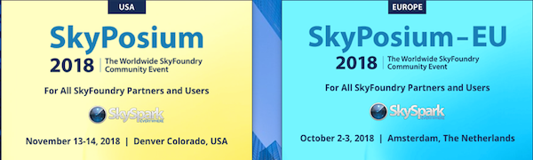 SkyPosium 2018 US Event – Nov 13-14, Denver CO