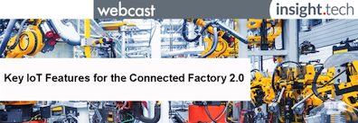 "SkyFoundry to be Featured in Insight.Tech Webinar ""Key IoT Features for the Connected Factory 2.0"""